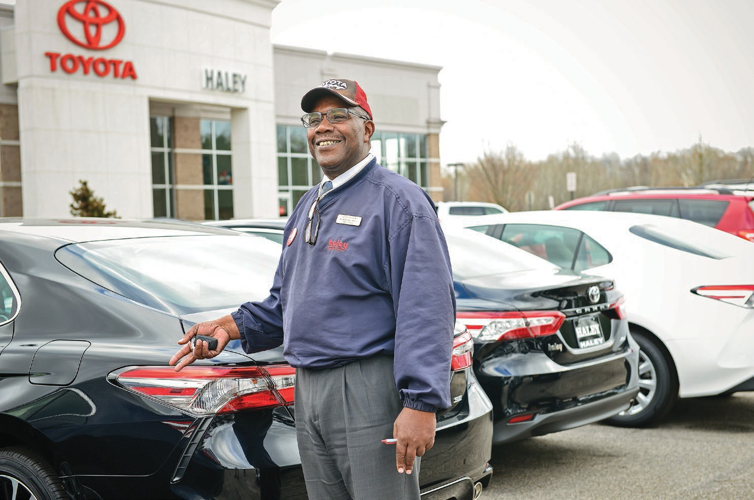 Anthony Gray, A Longtime Dealer Representative At Haley Toyota On Hull  Street Road, Says