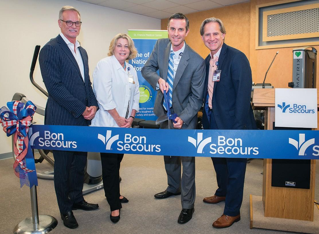 Cardiac Rehab Center Opens At St Francis Medical Center