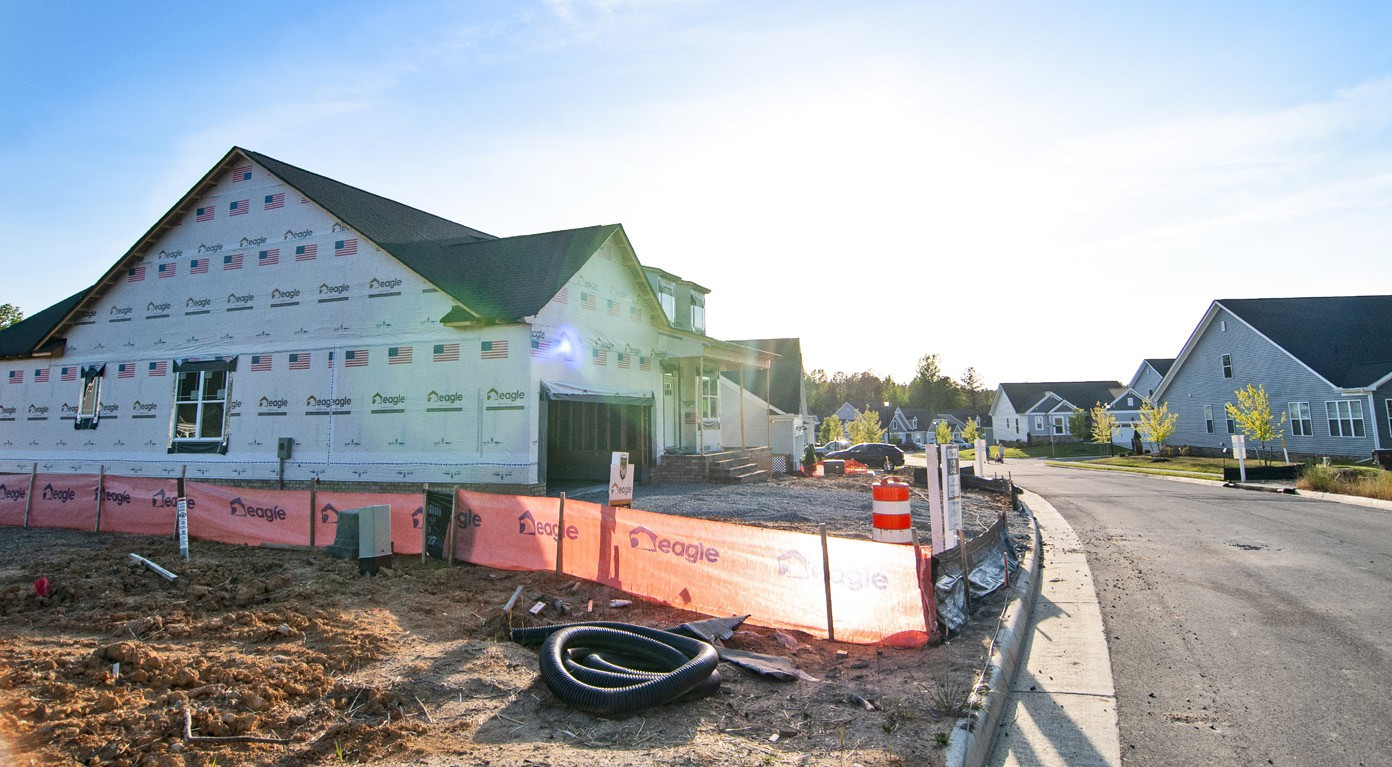 Executives with the Home Building Association of Richmond and Richmond Association of Realtors say a lack of new housing inventory is driving up prices in the county, and making homes less affordable. LARISSA TYLER